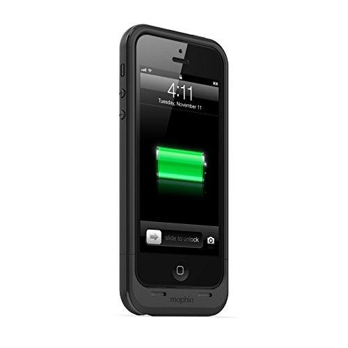 Mophie Juice Pack Plus for iPhone 5s/5 - Retail Packaging - Black