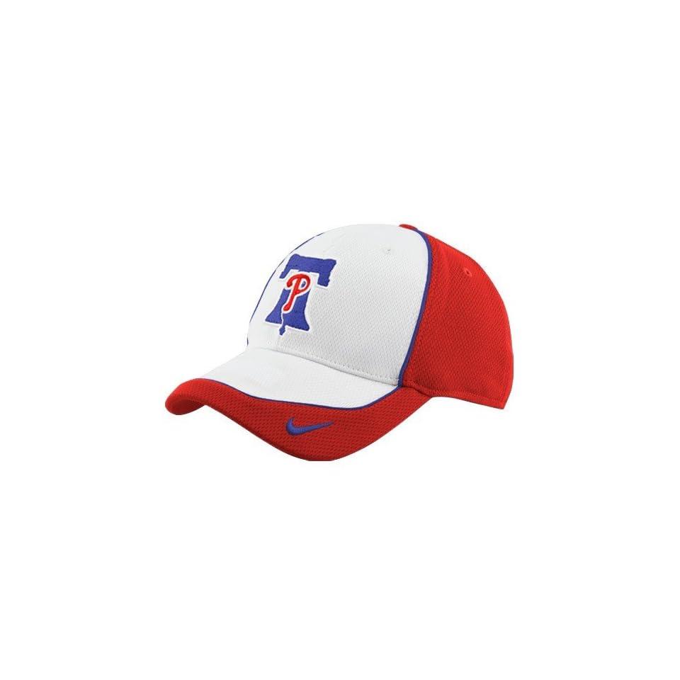 buy popular 8862e d8232 Nike Philadelphia Phillies White Pop Fly Swoosh Flex Mesh Hat