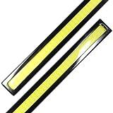【ノーブランド品】薄さ4ミリ 12W 完全防水 強力 ムラ無し 全面発光 LED デイライト バーライト パネルライト イルミ