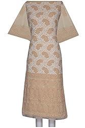 ADA Women Ethnic Lucknow Chikan Traditional Kurta Dress Material A95021