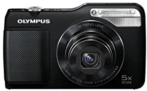 Olympus VG-170 Digital Compact Camera - Black (14MP, 5x Wide Optical Zoom) 3 inch LCD