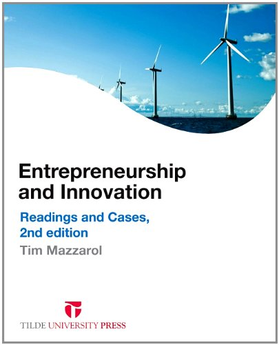 Entrepreneurship and Innovation: Readings and