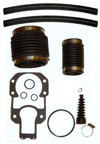 Bellows Kit for Mercruiser Alpha One, R, MR or #1 replaces 60932A4, 18654A1, 74639A2 and more