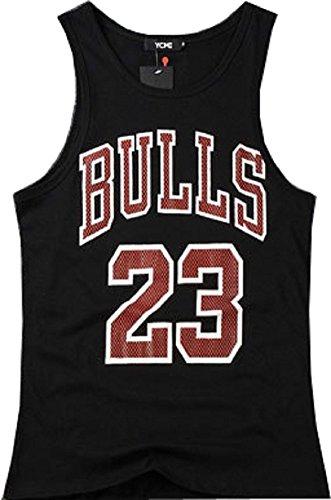 Ycmi Hip Hop Men'S Fashion Bulls 23 Gym Tank Tops T Shirt Undershirt (M, Bulls 23)