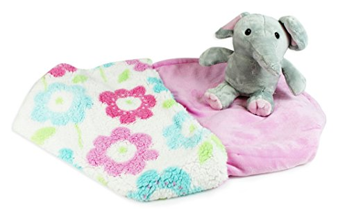 baby-printed-sherpa-blanket-with-plush-toy-elephant