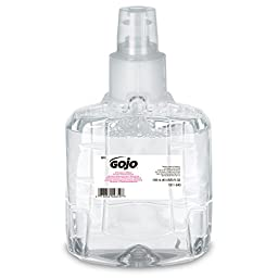 GOJO 1911-02 Clear and Mild Foam Handwash, 1200mL Refill (Pack of 2)