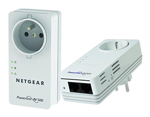 Adaptateur CPL NETGEAR POWERLINE  NANO XAVB5602 BLANC