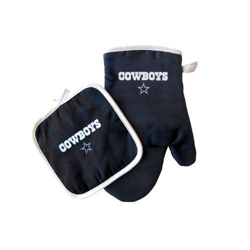 Dallas Cowboys NFL Oven Mitt and Pot Holder Set
