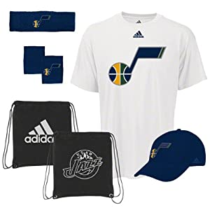 Utah Jazz To The Court 5-Piece Combo Pack by adidas