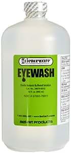 Bel-Art, Scienceware, 248790032, Bottle, Low Density Polyethylene, Sterile Eye Wash Replacement, Capped,  32 Oz