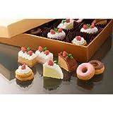 Iwako japoneses Cakes and Donuts Borrador, 7 pieza. Goma, Accesorios, Toppers, Decoración, Lápiz