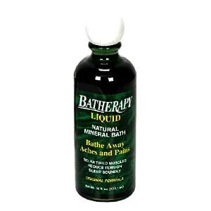 Batherapy Mineral Bath Liquid, Lavender, 16 oz