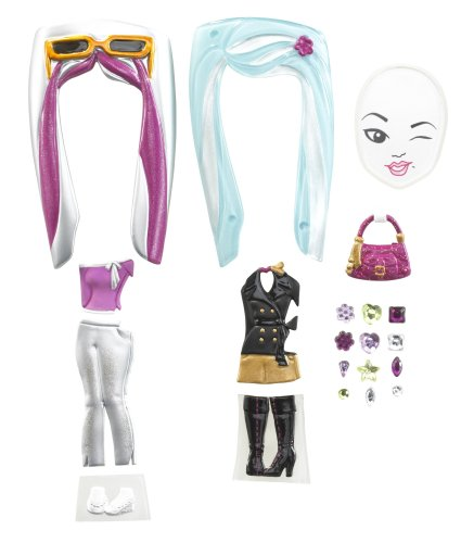 Barbie Girls Fashion Pack - Black/Silver