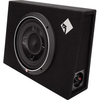 Rockford Fosgate P3S-1X10 P3 Shallow Punch Single 10-Inch Loaded Subwoofer Enclosure