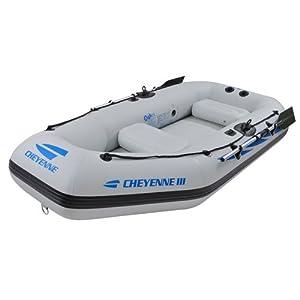 Amazon.com : Jilong III-400 Cheyenne Inflatable Boat : Sports