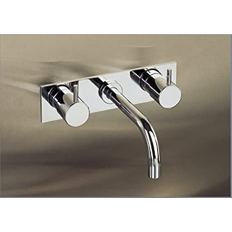 Vola 1513KM--40TR Stainless Steel Two Handle Bathroom Faucet