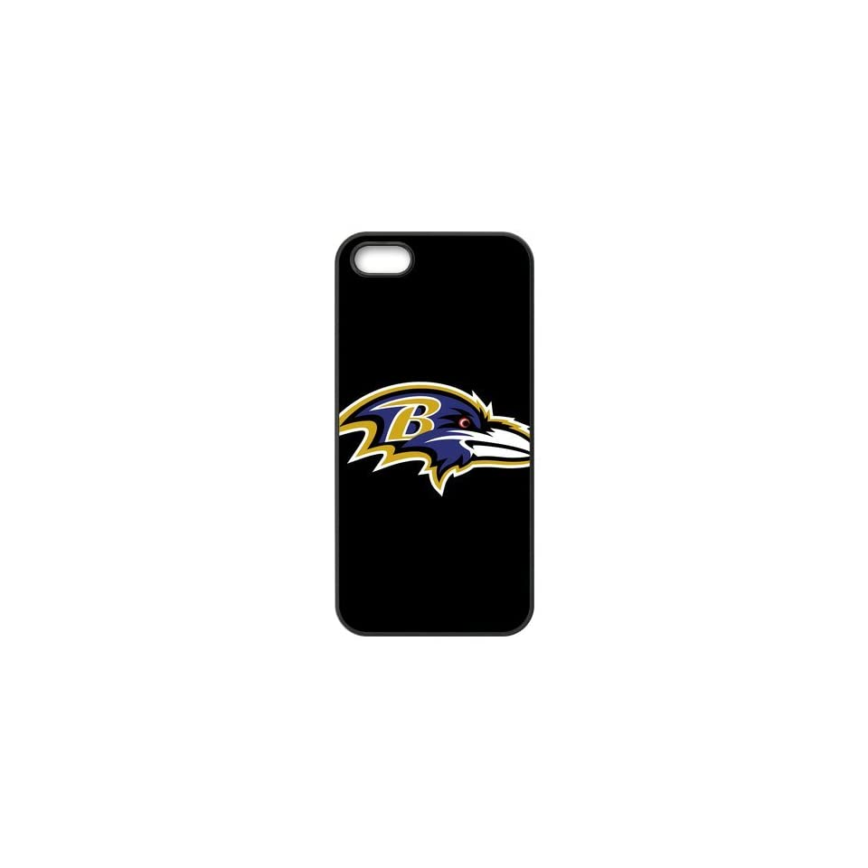 NFL Baltimore Ravens Logo High Quality Inspired Design TPU Protective cover For Iphone 5 5s iphone5 NY424 Cell Phones & Accessories