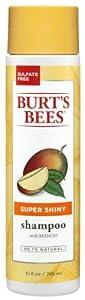 Burt's Bees Super Shiny Shampoo, Mango, 10 Fluid Ounces