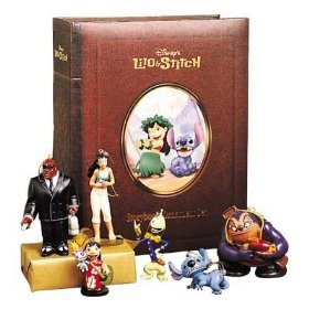 Disney's Lilo & Stitch Storybook Christmas Ornament Set