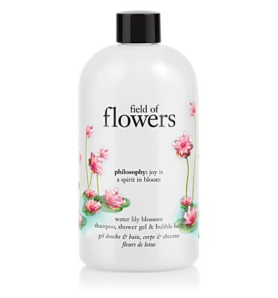 field of flowers water lily blossom 16.0 oz shampoo, shower gel & bubble bath for Women
