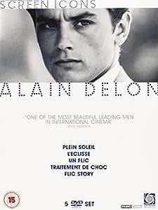 Alain Delon Boxset (Screen Icons) [DVD]