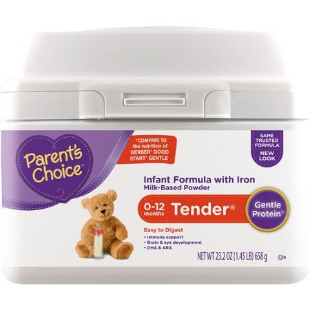 Parent's Choice Tender Powder Formula with Iron, 23.2 oz