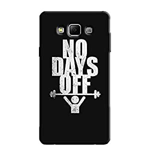 NO-DAYS-OFF BACK COVER FOR SAMSUNG A7