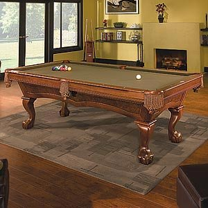 Brunswick brae loch 4 39 x 8 39 slate pool table for 1 inch slate pool table