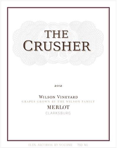 2012 The Crusher Merlot 750 Ml