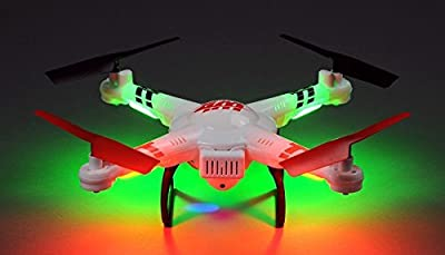 WL Toys V686K 6-Axis Gyro 2.4G 4CH WIFI FPV Real-time Videos Return (Android and IOS compatible device) UFO RC Quadcopter with HD Camera + Headless Mode from Hero RC