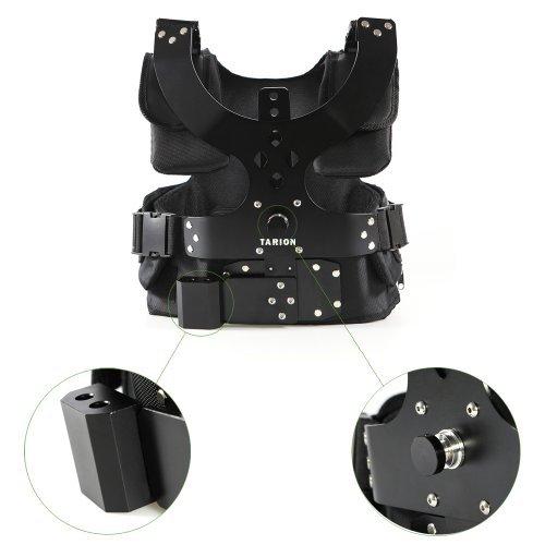TARION Set professionale (Gilet e accessori) per videocamere stabilizzatore/DSLR-Rig
