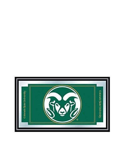 Trademark Global Colorado State University Logo & Mascot Framed Mirror