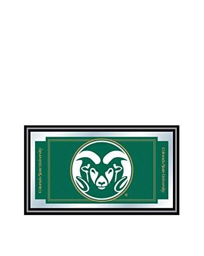Trademark Global Colorado State University Logo & Mascot Framed Mirror