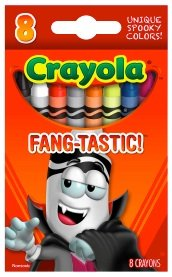 Crayola Limited Edition Halloween Crayons: Fang-tastic! [RED] - 1
