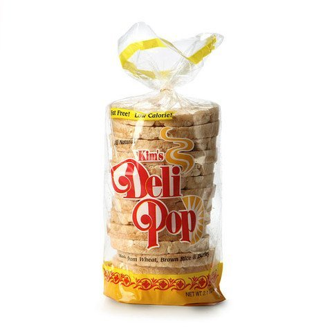 Kim's Deli Pop 12 Packs : freshly popped grain snack with a wholesome blend of wheat, brown rice & corn made for today's health-conscious consumers (Pop Rice compare prices)