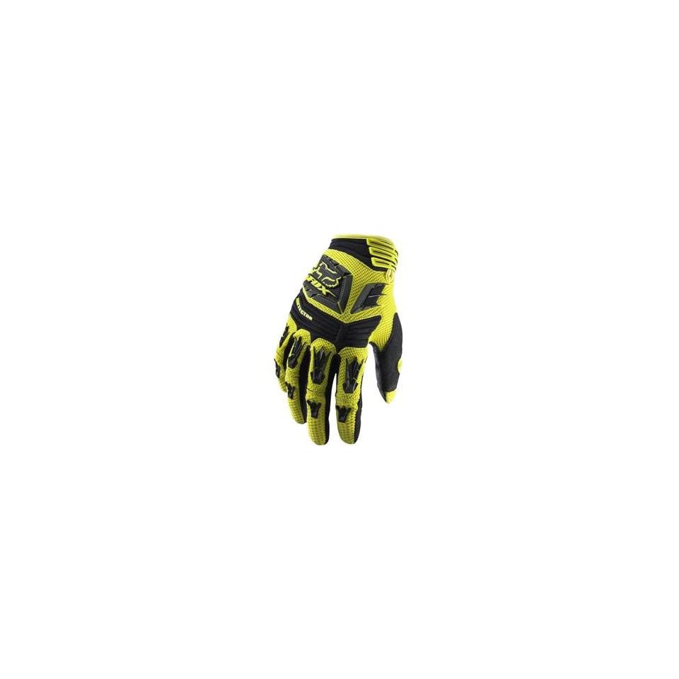 Fox Racing Pawtector Gloves   11/Yellow