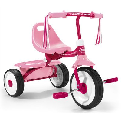 Radio Flyer Fold 2 Go Trike - Girls Pink