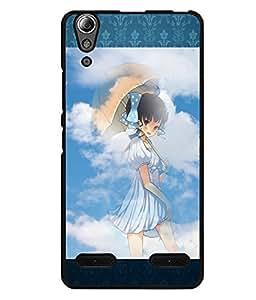 Printvisa 2D Printed Girly Designer back case cover for Lenovo A6000 - D4155
