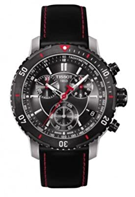 Tissot PRS 200 Chrono Black Dial Men's watch #T067.417.26.051.00 by Tissot