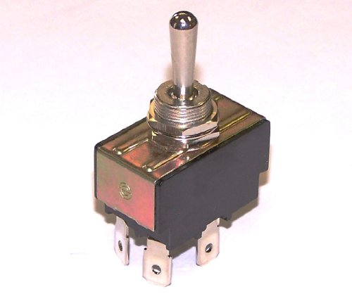 30 Amp Toggle Switch 3 Position Polarity Reversing Dc