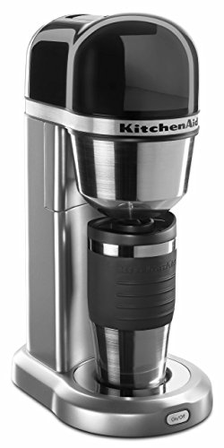 KitchenAid KCM0402CU Personal Coffee Maker, Contour Silver
