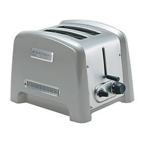 KitchenAid KPTT780NP Pro Line 2-Slice Toaster, Nickel Pearl
