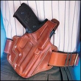 Galco Fletch High Ride Belt Holster for Beretta 84 / F (Tan, Right-hand) (Beretta Model 84 Holster compare prices)