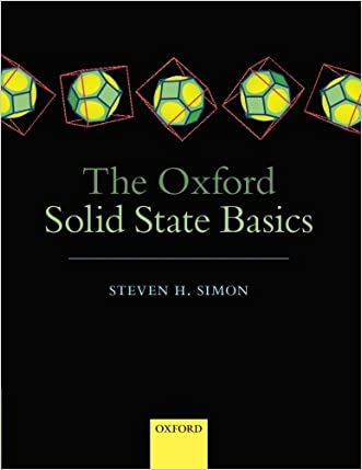 The Oxford Solid State Basics written by Steven H. Simon