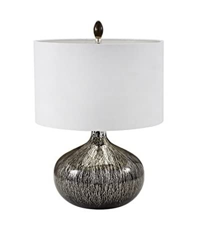 Artistic Lighting Table Lamp, Black Mercury Drip