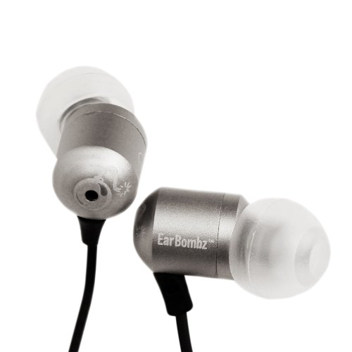 Earbombz Ebhbmicsilverdr High Definition In-Ear Audio Monitor System