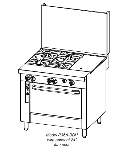 Southbend-Platinum-36-in-Heavy-Duty-Restaurant-Range-GriddleCharbroiler-P36A-GGC