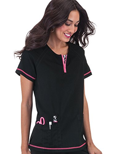 Nursing Scrubs; KOI Womens Jasmine Top