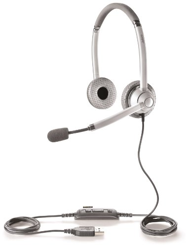 Jabra Uc Voice 750 Duo (Light) Corded Headset For Softphone