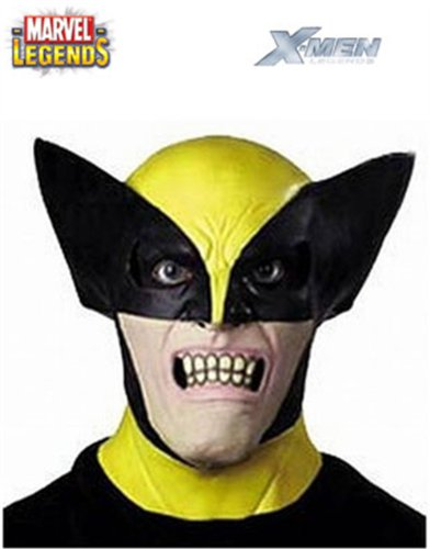 Marvel X-Men Deluxe Wolverine New Adult Halloween Mask